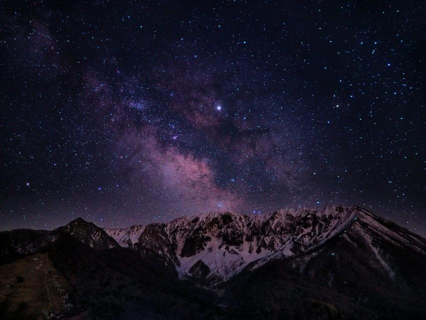 早春の銀河