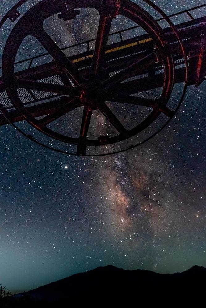 静かなる時   見守る銀河