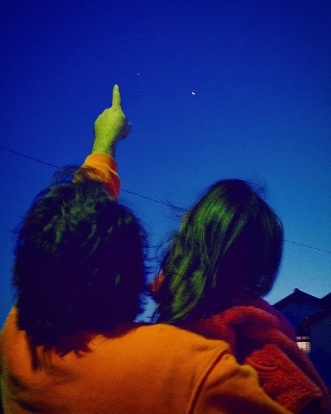 Le beau ciel étoilé de Daisen