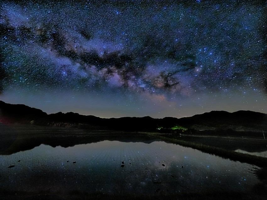 貝田の星空